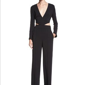 NEVER WORN A.L.C Cutout Longe Sleeve Jumpsuit